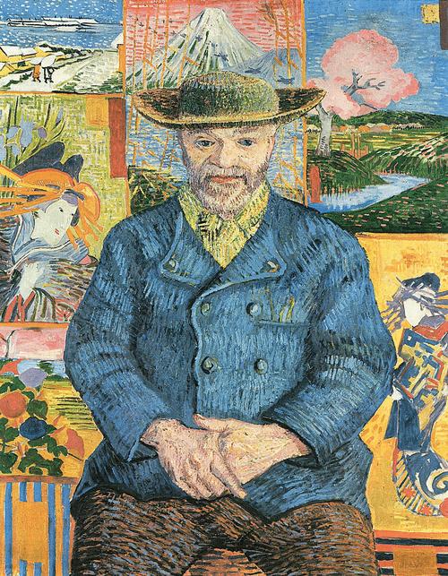 Портрет Папаши Танги. 1887 год.