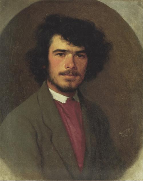 Портрет агронома Вьюнникова. 1868