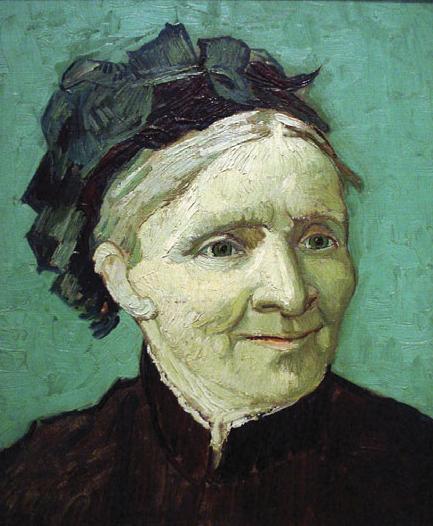 Портрет матери художника. 1888 год.