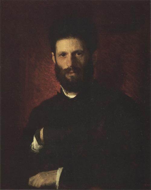 Портрет скульптора М. М. Антокольского. 1876