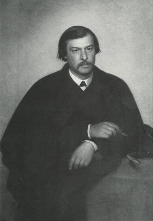 Портрет фотографа и художника М. Б.Тулинова. 1868