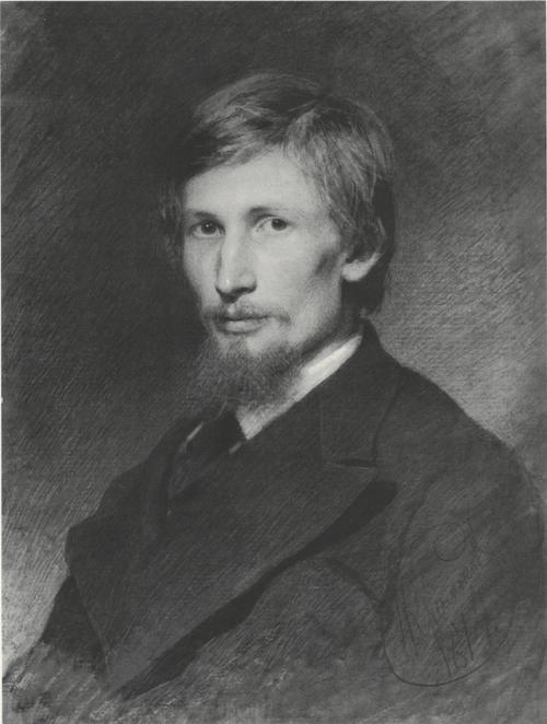 Портрет художника В. М. Васнецова. 1874