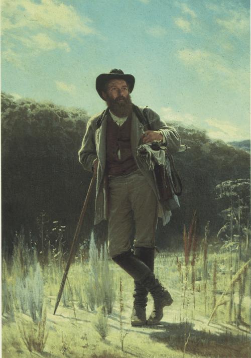 Портрет художника И. И. Шишкина. 1873