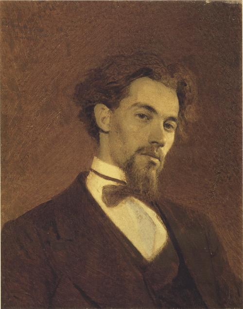 Портрет художника К. А. Савицкого. 1871