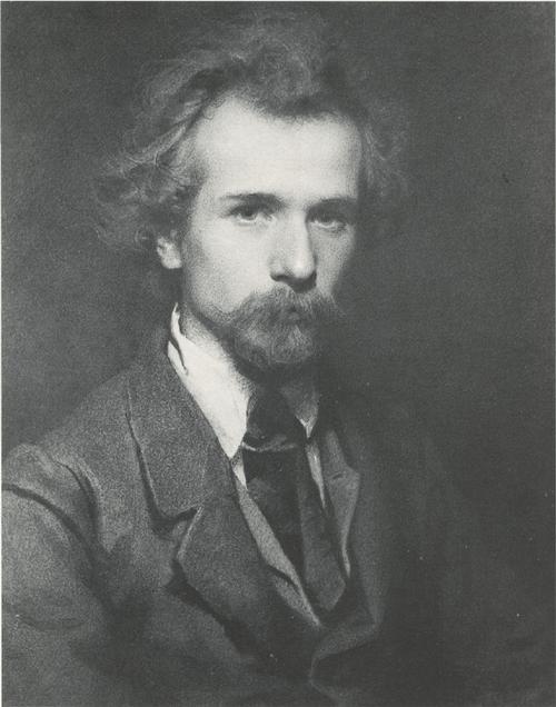 Портрет художника П. П. Чистякова. 1861