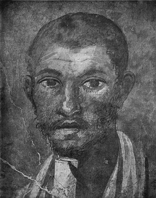Портрет юриста Теренция Неро. Деталь. Национальный мувей в Неаполе