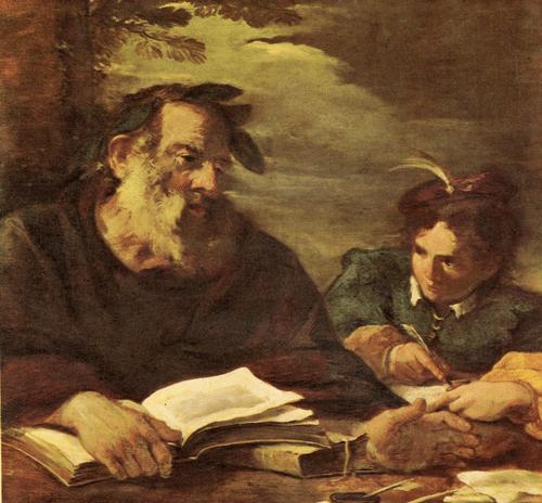Пьер Франческо Мола Гомер диктует свои поэмы