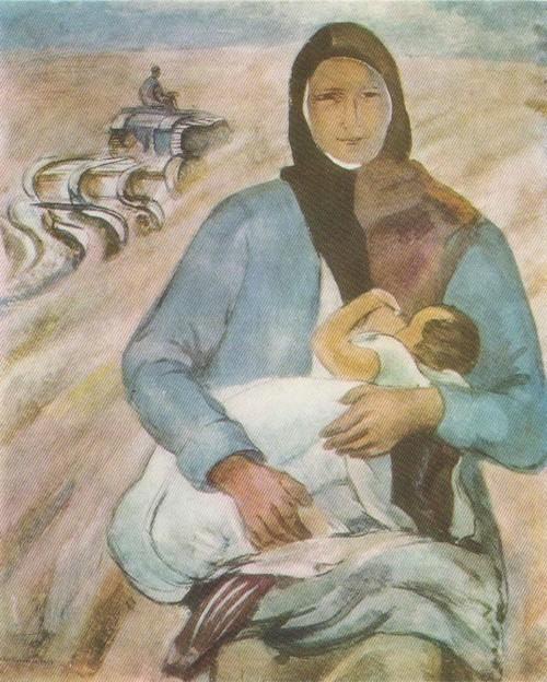 П. Кузнецов. Мать 1930