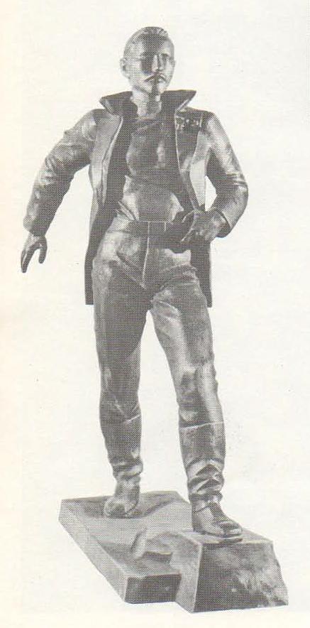 П. Чусовитин (Москва). Иван Бабушкин. Бронза. 1977.