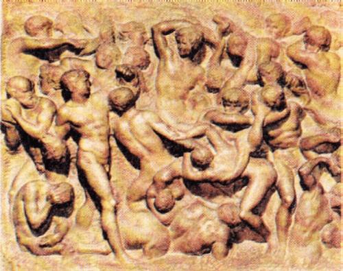 Рельеф Битва кентавров. Около 1492