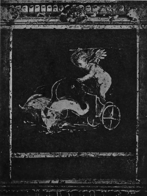 Роспись Дома Веттиев в Помпее. Деталь