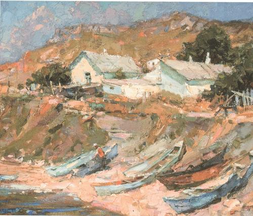 Рыбацкое село 1989