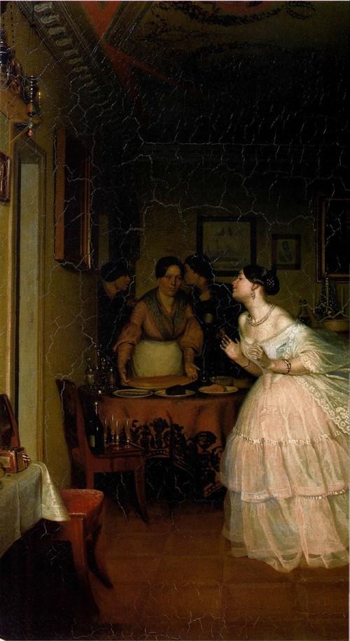 Сватовство майора. 1848