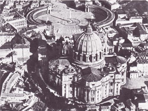 Собор св. Петра в Риме. Общий вид. 1546—1593.