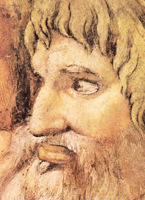Страшный суд. Деталь. Голова Апостола Павла.