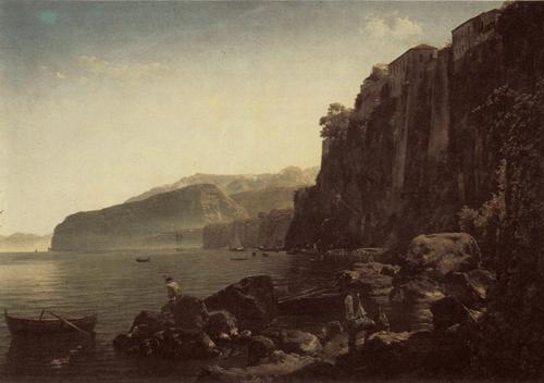 С. Ф. Щедрин. Вид Сорренто близ Неаполя. Конец 1820-х гг.