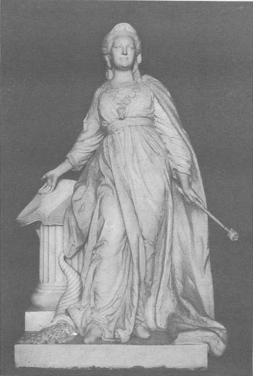 Ф. Шубин. Екатерина II. Мрамор. 1790.