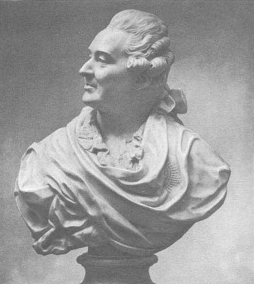 Ф. Шубин. Портрет А. М. Голицына. Мрамор. 1775.