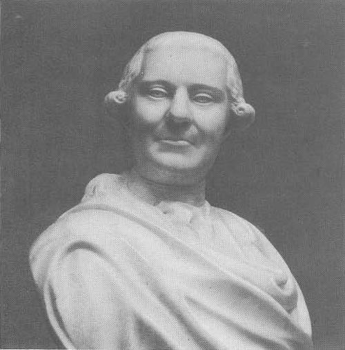 Ф. Шубин. Портрет В. Г. Орлова. Мрамор. 1778.