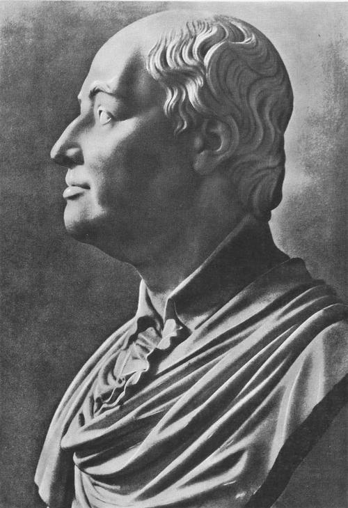 Ф. Шубин. Портрет М. В. Ломоносова. Мрамор. 1790-е гг.