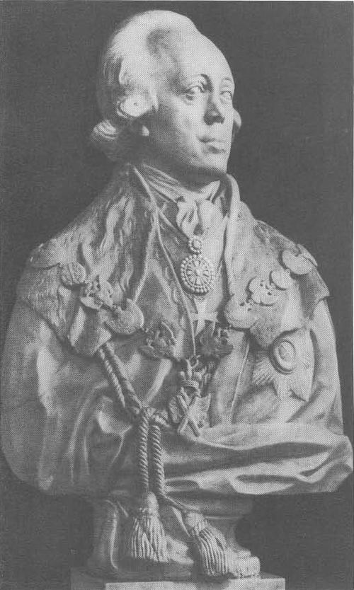 Ф. Шубин. Портрет Павла I. Мрамор. 1797.