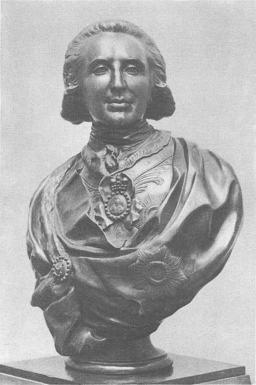 Ф. Шубин. Портрет П. А. Зубова. Бронза. 1795.