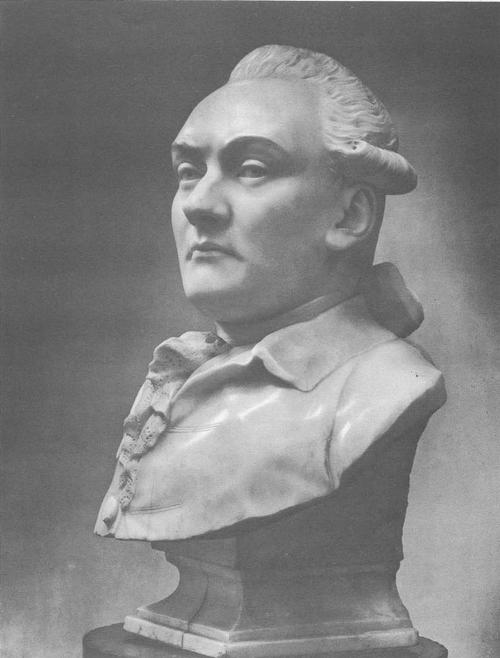 Ф. Шубин. Портрет неизвестного. Мрамор. 1770-е гг.