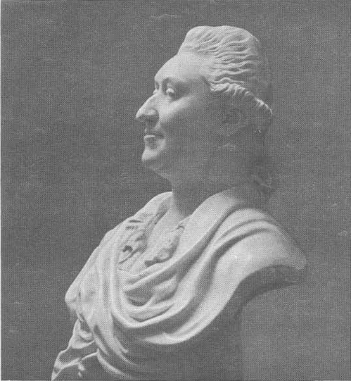Ф. Шубин. Портрет И. Г. Орлова. Мрамор. 1778.