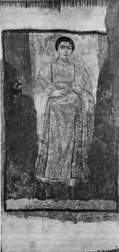 Женская погребальная пелена. Метрополитанский мувей в Ныо-Йорке