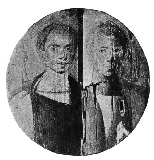 Парный портрет братьев. № 33267. Каирский мувей