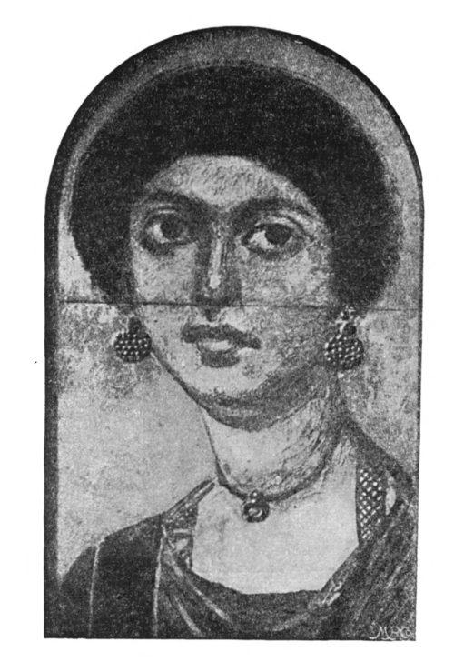 Женский портрет из Фаюма, № 10974. Старый мувей в Берлине