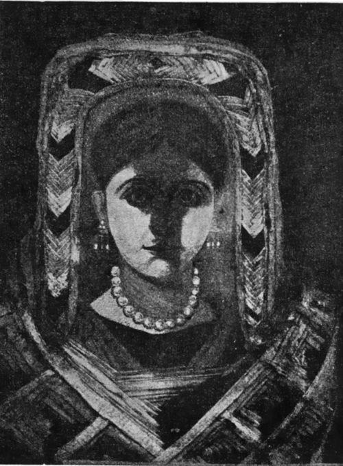 Верхняя часть женской мумии. Ашмолеанский мувей в Оксфорде