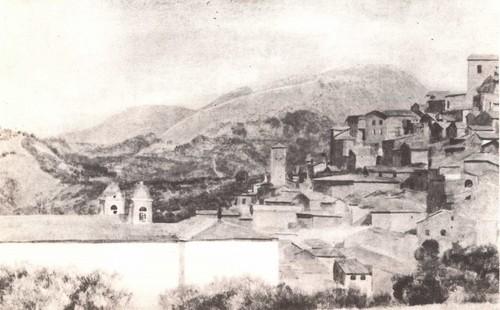 А. Иванов. Субиако Масло. Около 1831—1834.