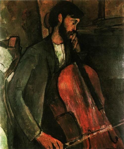 Виолончелист. 1909