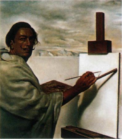 Вселенский собор . Фрагмент с автопортретом. 1960