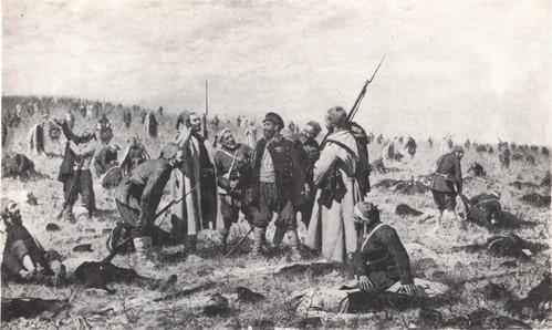 В. Верещагин. Победители. Масло. 1878—1879.