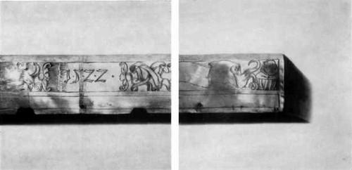 КРЫШКА ОКЛАДА ЕВАНГЕЛИЯ 1522 Южная Германия. Неизвестный мастер Серебро. Чеканка, гравировка, золочение Высота 35.5 см, ширина 24,3 см Поступила из собора Двенадцати апостолов в Московском Кремле. Серебряная крышка оклада с чеканкой на верхней доске и гравированной датой «1522» на боковой стороне относима к произведениям немецкого Возрождения. Энергично вычеканенные в горельефе изображения четырех евангелистов (в центральном поле) и двенадцати святых (по сторонам) запоминаются передачей индивидуальных особенностей, выразительных поз и жестов, выявляющих различие характеров и темпераментов