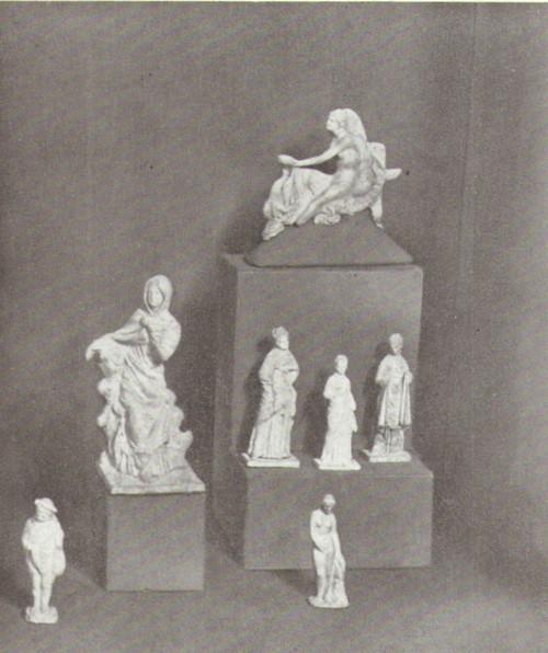 Греческая терракота III-IV века до н.э 2