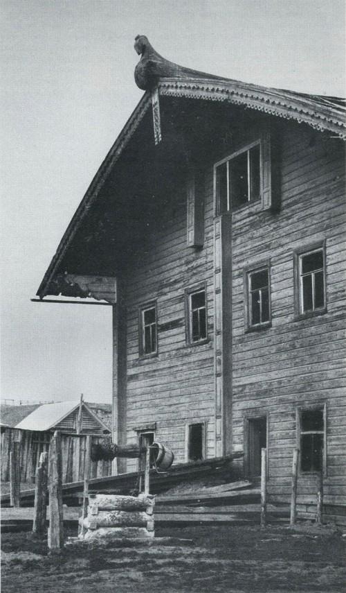 Дом середины XIX века в деревне Наволок