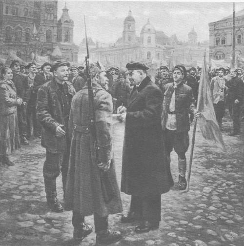 Д. Налбандян. В. И. Ленин в 1919 году. Масло. 1957.