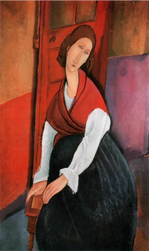 Жанна Эбютерн. 1919