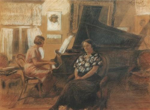 За роялем 1938