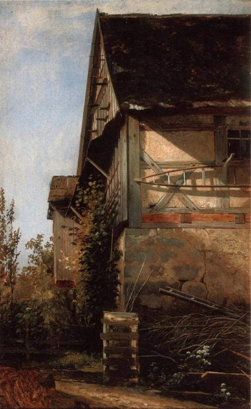 Домик в Дюссельдорфе. 1865