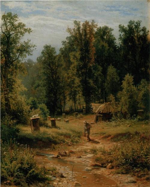 Пасека в лесу. 1876
