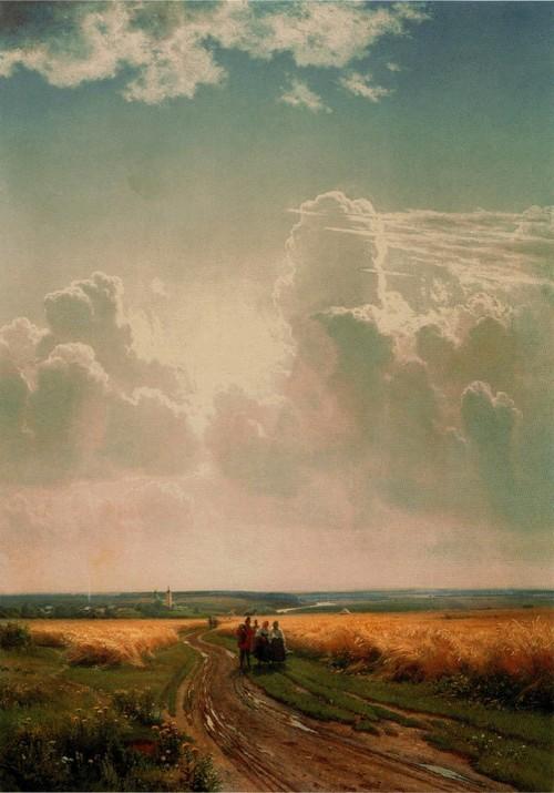 Полдень. В окрестностях Москвы . 1869