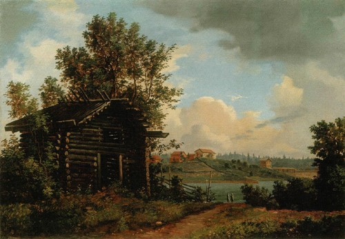 Пейзаж . 1861