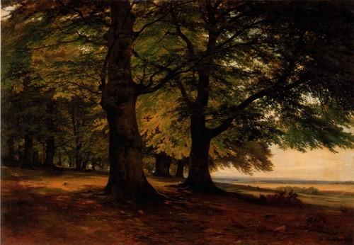 Тевтобургский лес. 1865