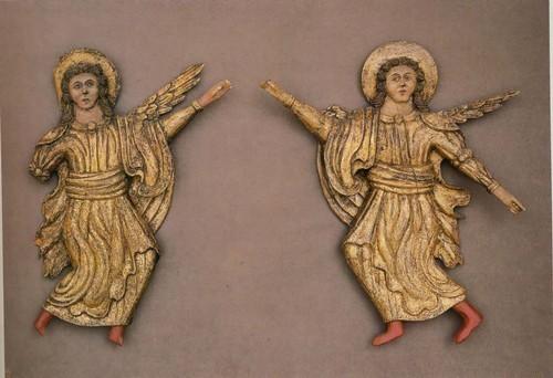 Ангелы. Вторая половина XVIII - начало XIX в.