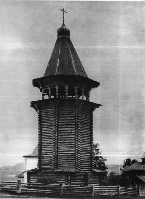 Колокольня церкви. Северная Двина.