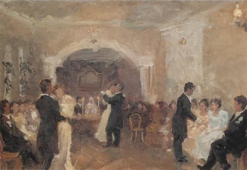 Купеческий бал. 1899